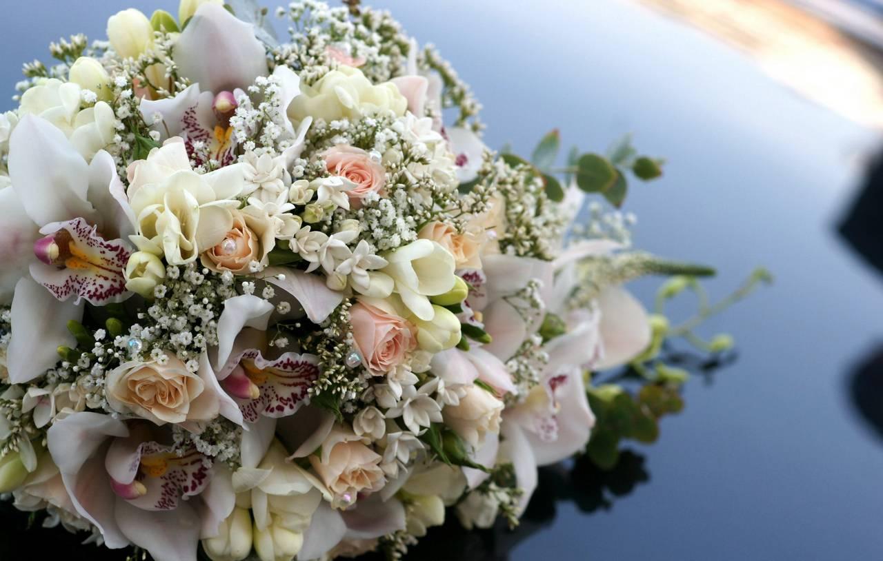 Свадебный букет невесты на заказать минск